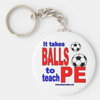 Chaveiro Toma bolas para ensinar o PE