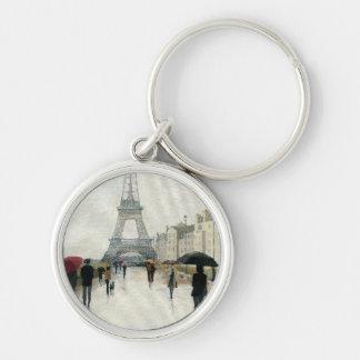 Chaveiro Torre Eiffel   Paris na chuva