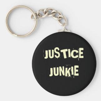 Chaveiro Toxicómano de justiça - apelido e título