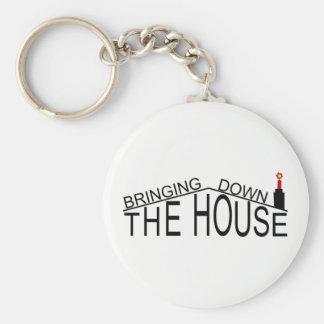Chaveiro Trazer abaixo do keyring do logotipo da casa