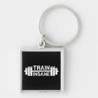 Chaveiro Trem insano - Barbell, Gym, exercício inspirado