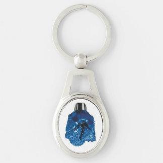 Chaveiro Tricone azul do bocado de broca