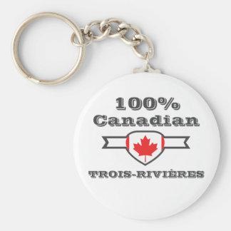 Chaveiro Trois-Rivières 100%