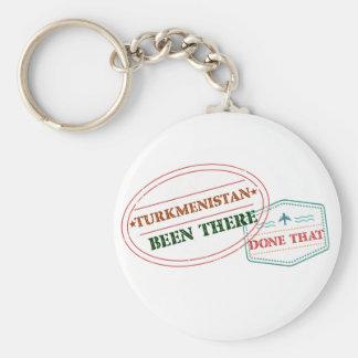 Chaveiro Turkmenistan feito lá isso