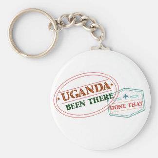 Chaveiro Uganda feito lá isso