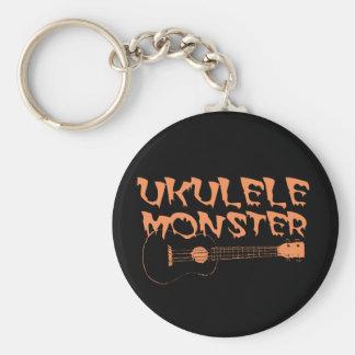 Chaveiro ukulele assustador