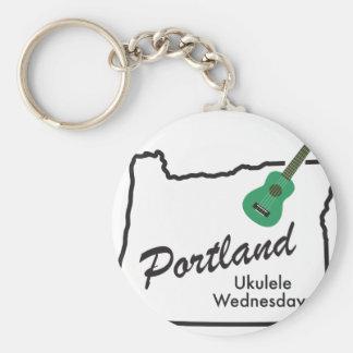 Chaveiro Ukulele quartas-feiras de Portland