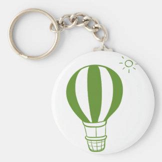 Chaveiro Um balão de ar quente e um sol
