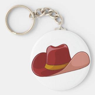 Chaveiro Um chapéu de vaqueiro