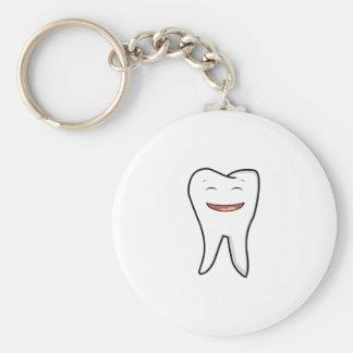 Chaveiro Um dente muito feliz