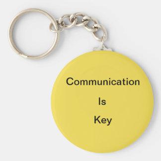 Chaveiro Uma comunicação é…