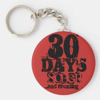 Chaveiro Uma sobriedade de 30 dias
