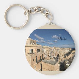 Chaveiro Uma vista de Valletta, Malta por Sun, lua, & por