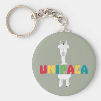 Chaveiro Unicórnio Z0ghq do arco-íris da alpaca