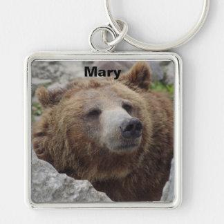 Chaveiro Urso de Kodiak