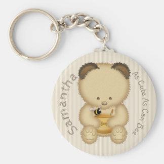 Chaveiro Urso de mel bonito
