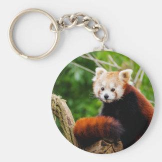 Chaveiro Urso de panda vermelha bonito