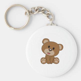 Chaveiro Urso de ursinho de Brown