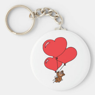 Chaveiro Urso enchido amor dos namorados bonito