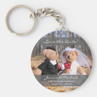 Chaveiro Ursos dos noivos que Wedding economias a data