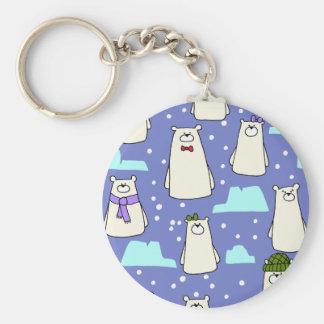 Chaveiro ursos polares