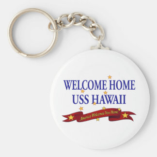 Chaveiro USS Home bem-vindo Havaí