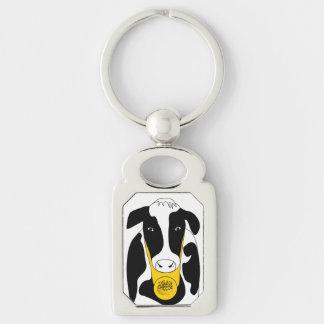 Chaveiro Vaca grande engraçada MK do chefe do queijo