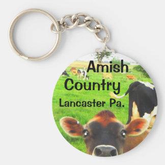 Chaveiro Vacas do país de Amish! Lancaster