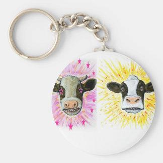Chaveiro Vacas loucas