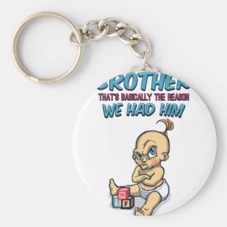 Chaveiro Vai o jogo com seu irmão - parentalidade perfeita