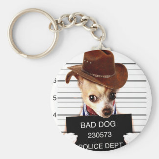 Chaveiro vaqueiro da chihuahua - cão do xerife