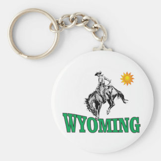 Chaveiro Vaqueiro de Wyoming