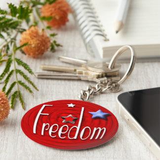 Chaveiro Vermelho da liberdade