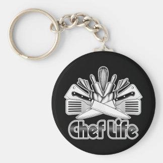 Chaveiro Vida do cozinheiro chefe: Utensílios da cozinha