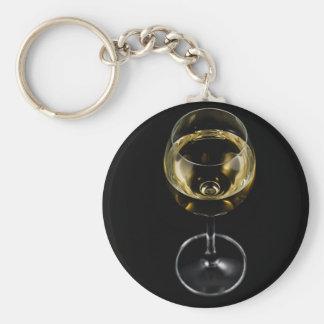 Chaveiro vidro do champanhe