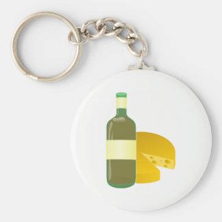 Chaveiro Vinho e queijo