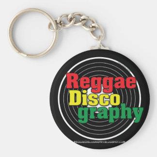 Chaveiro Vinil da discografia da reggae