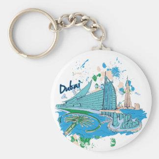 Chaveiro vintage Dubai nós design de e