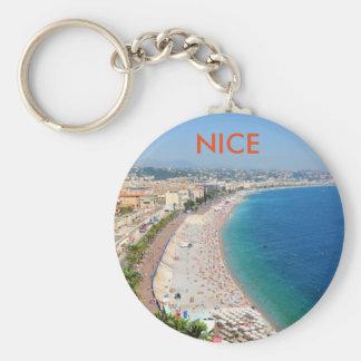 Chaveiro Vista aérea da praia em agradável, France