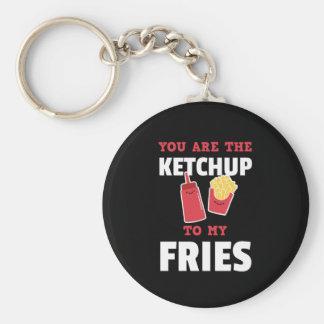 Chaveiro Você é a ketchup a meus casais bonitos das