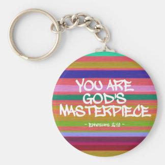 Chaveiro Você é citações de Ephesians da obra-prima do deus