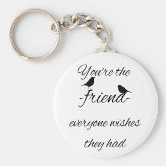 Chaveiro Você é o amigo que todos deseja que tiveram