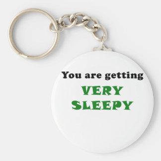 Chaveiro Você está obtendo muito sonolento
