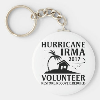 Chaveiro Voluntário de Irma do furacão