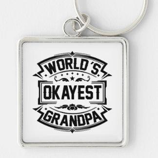 Chaveiro Vovô do Okayest do mundo