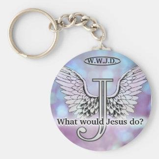 Chaveiro W.W.J.D o que Jesus fazem?