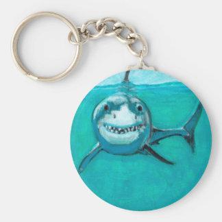 """Chaveiro """"Wayne"""" o grande tubarão branco"""