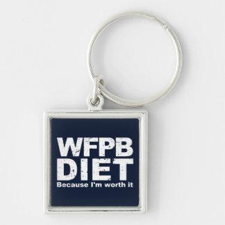 Chaveiro WFPB que eu valer a pena (branco)