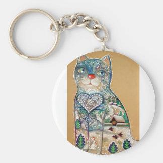 Chaveiro winter cat
