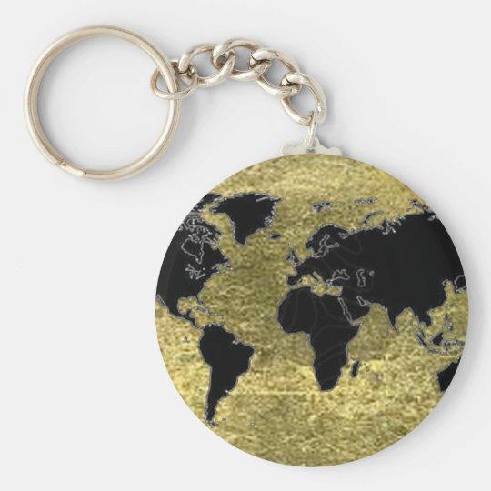 Chaveiro World Map